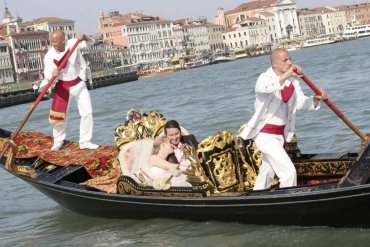 Wedding in Gondola