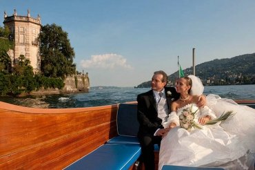 Wedding on Motorboat