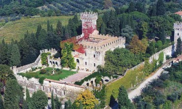 Сastle in Chianti area