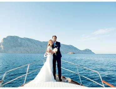 Civil wedding in Olbia and Golfo Aranci