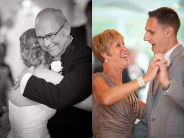 Dance with parents at the wedding: an unchanged and touching tradition