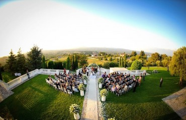Civil wedding near Rome