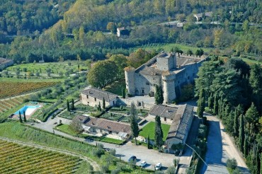 Сastle in Chianti near Siena