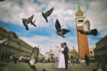 Wedding near Venice