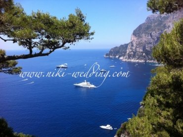 Wedding on Capri Island