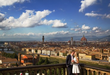 Civil wedding in Florence